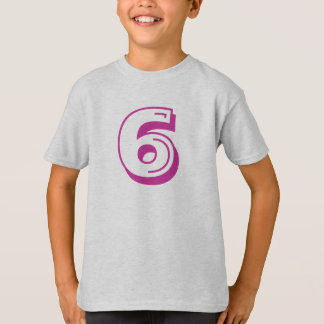Number 6 shirt