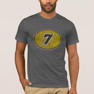 NUMBER 7 RACE SHIRT. T-Shirt