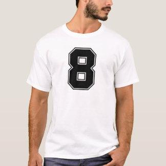 Number 8 frontside print T-Shirt