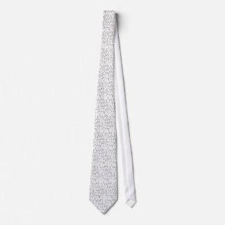 Number Cruncher Tie
