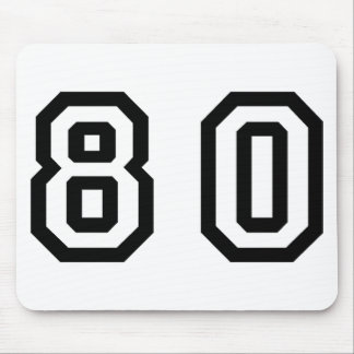 Number Eighty Mouse Pad