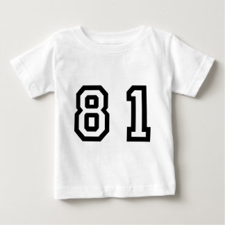 Number Eighty One Baby T-Shirt