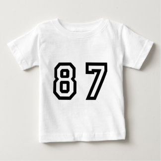 Number Eighty Seven Baby T-Shirt