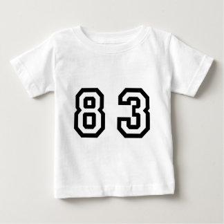 Number Eighty Three Baby T-Shirt