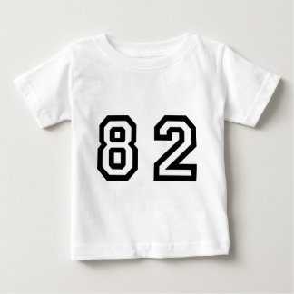 Number Eighty Two Baby T-Shirt