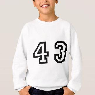 Number Forty Three Sweatshirt