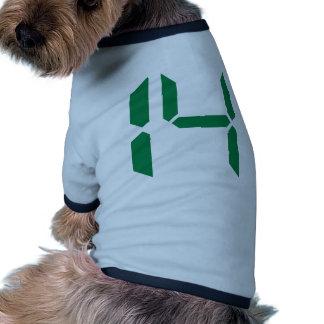 Number - Fourteen - 14 Pet T-shirt