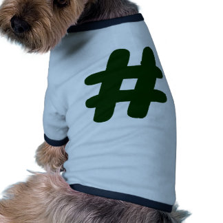 Number – Hash Dog T Shirt