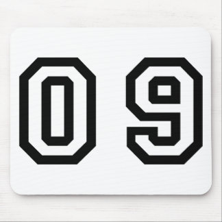 Number Nine Mouse Pad