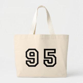 Number Ninety Five Large Tote Bag