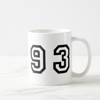 Number Ninety Three Coffee Mug