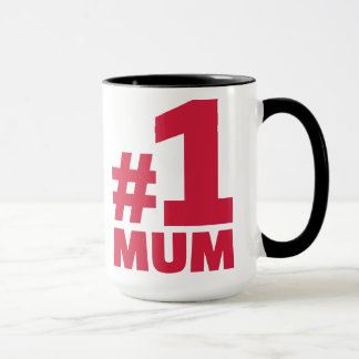 Number No. 1 Mum Mug