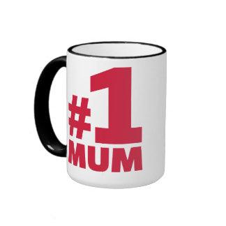 Number No. 1 Mum Ringer Mug