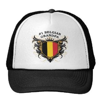 Number One Belgian Grandpa Cap