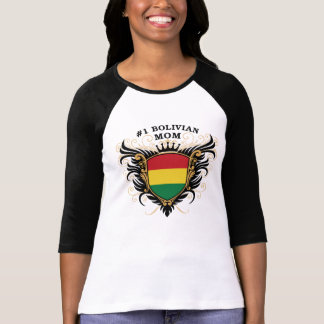 Number One Bolivian Mom T-Shirt