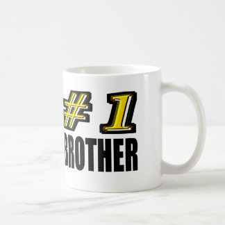 Number One Brother Coffee Mugs