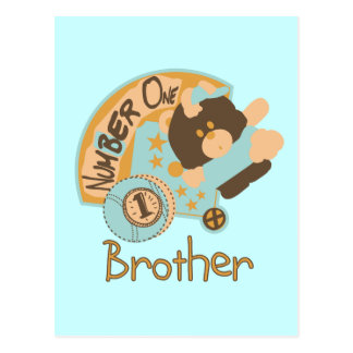 Number One Brother Tshirts and Gifts Postcard
