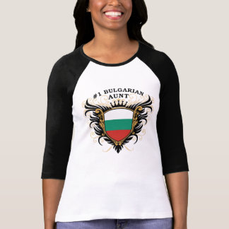 Number One Bulgarian Aunt Tshirts