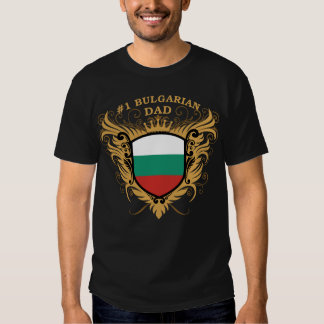 Number One Bulgarian Dad Shirt