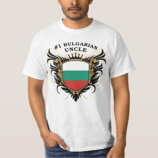Number One Bulgarian Uncle Tee Shirt