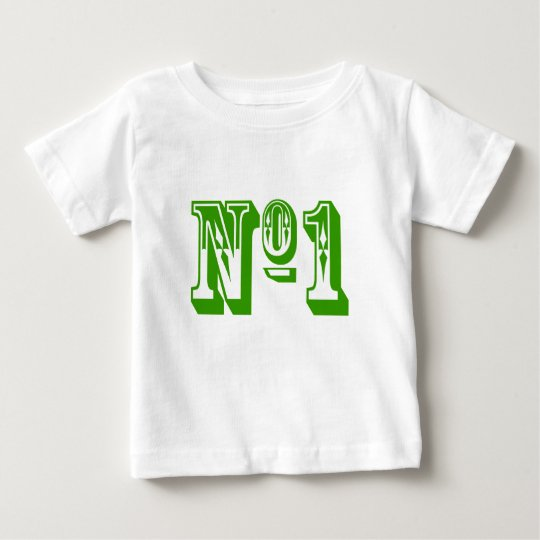 Number One Child Baby T-Shirt
