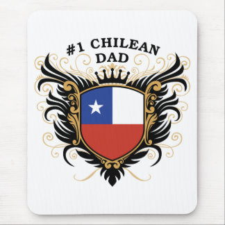 Number One Chilean Dad Mouse Mat