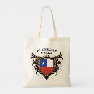 Number One Chilean Uncle Tote Bags