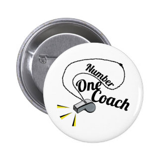 Number One Coach Buttons