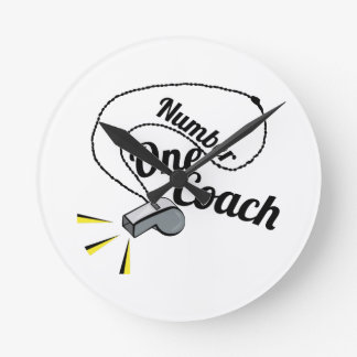Number One Coach Wall Clocks