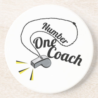 Number One Coach Beverage Coasters