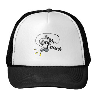 Number One Coach Hats