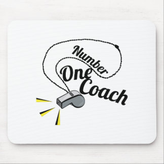 Number One Coach Mouse Pads