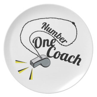 Number One Coach Plates
