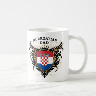 Number One Croatian Dad Coffee Mug
