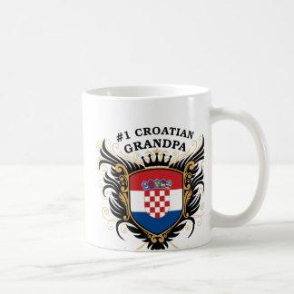 Number One Croatian Grandpa Mug