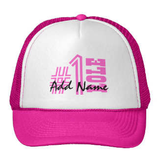 Number One Custom Name and Role Z501A Cap