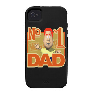 Number One Dad Case-Mate iPhone 4 Cases