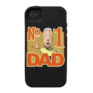 Number One Dad iPhone 4 Cover