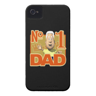 Number One Dad iPhone 4 Case-Mate Case