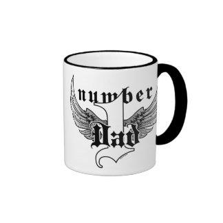Number One Dad Coffee Mug