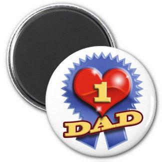 Number One Dad Fridge Magnets