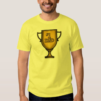 Number One Dad Gifts For Him Shirt