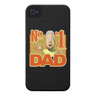 Number One Dad iPhone 4 Case-Mate Cases