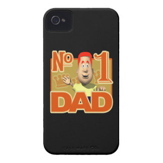 Number One Dad iPhone 4 Cases