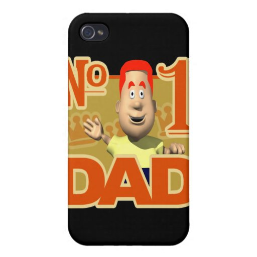 Number One Dad iPhone 4/4S Cover