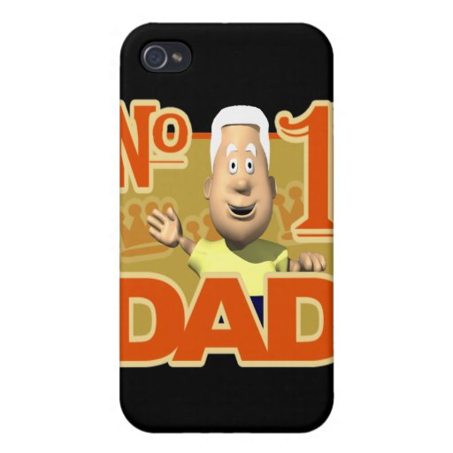 Number One Dad Cover For iPhone 4