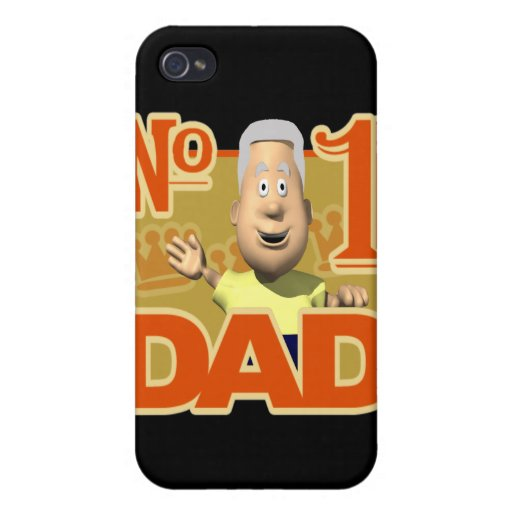 Number One Dad Cases For iPhone 4