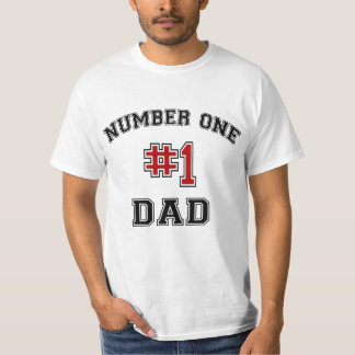 Number One Dad Shirts