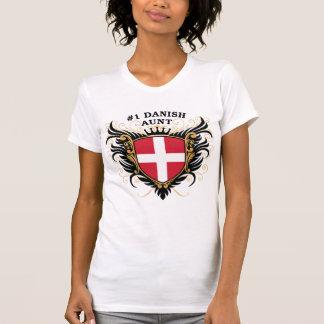 Number One Danish Aunt T-Shirt