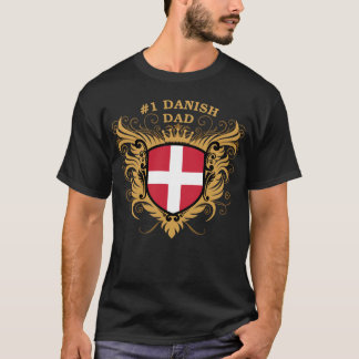 Number One Danish Dad T-Shirt